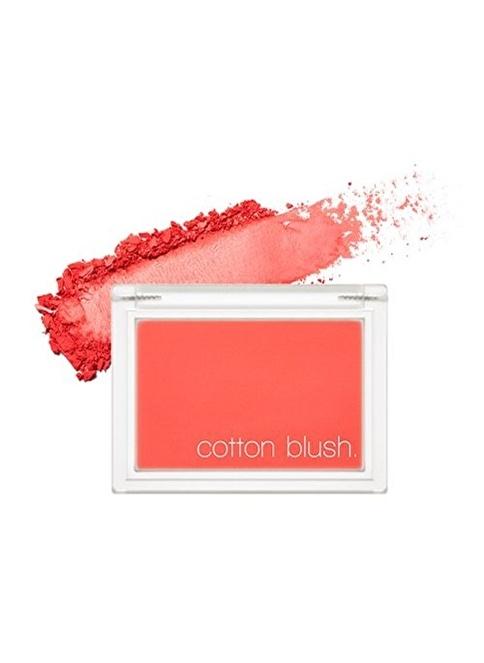 Missha Cotton Blusher (Red Flat) Kırmızı